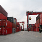 transport container handling